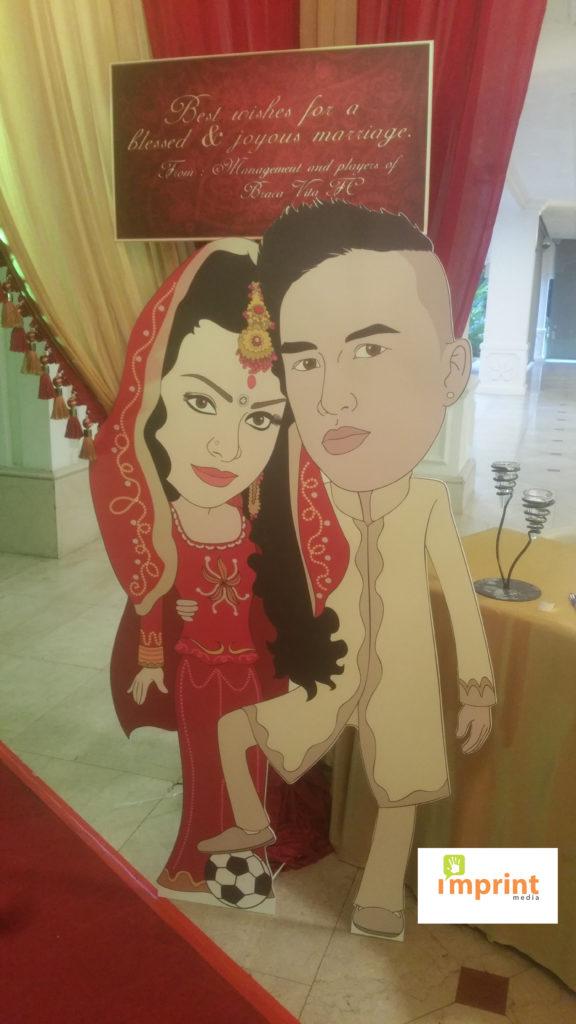 Wedding Standee